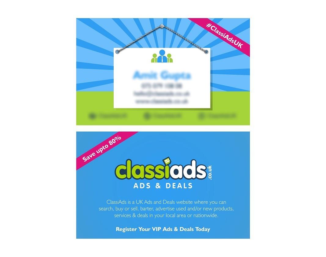 Classiads Business Card