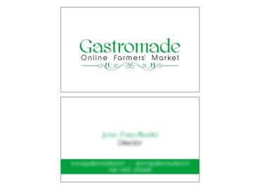 Gastromade Online Farmers Market Business Card