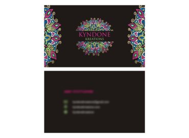 Kyndone Kreations Business Card