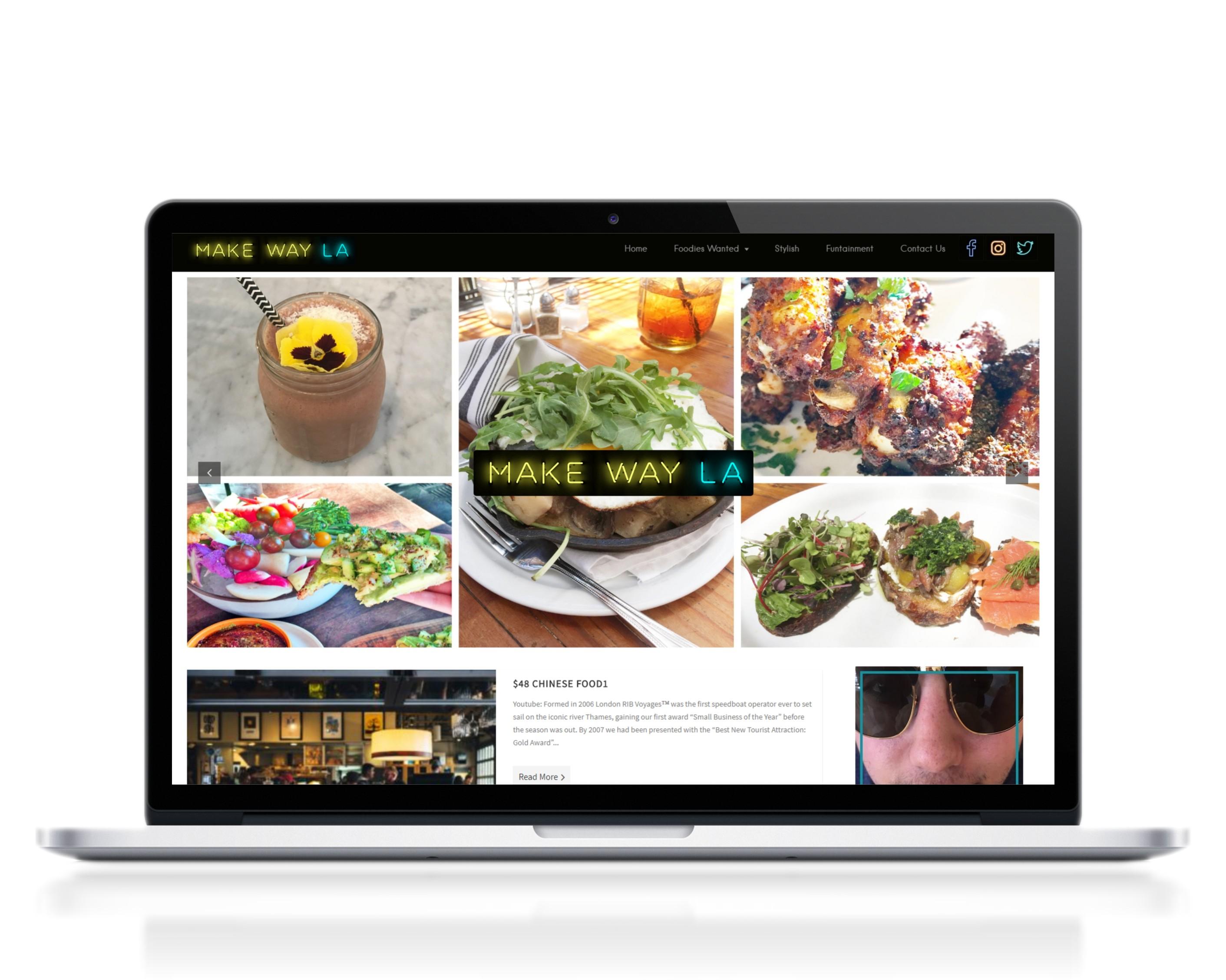 Make Way La website