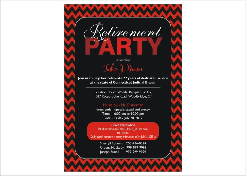 retirement party flyers posters seobuckinghamshire