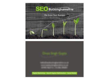 SEO Buckinghamshire Business Card