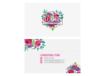 Tubes Floral Designs Business Card