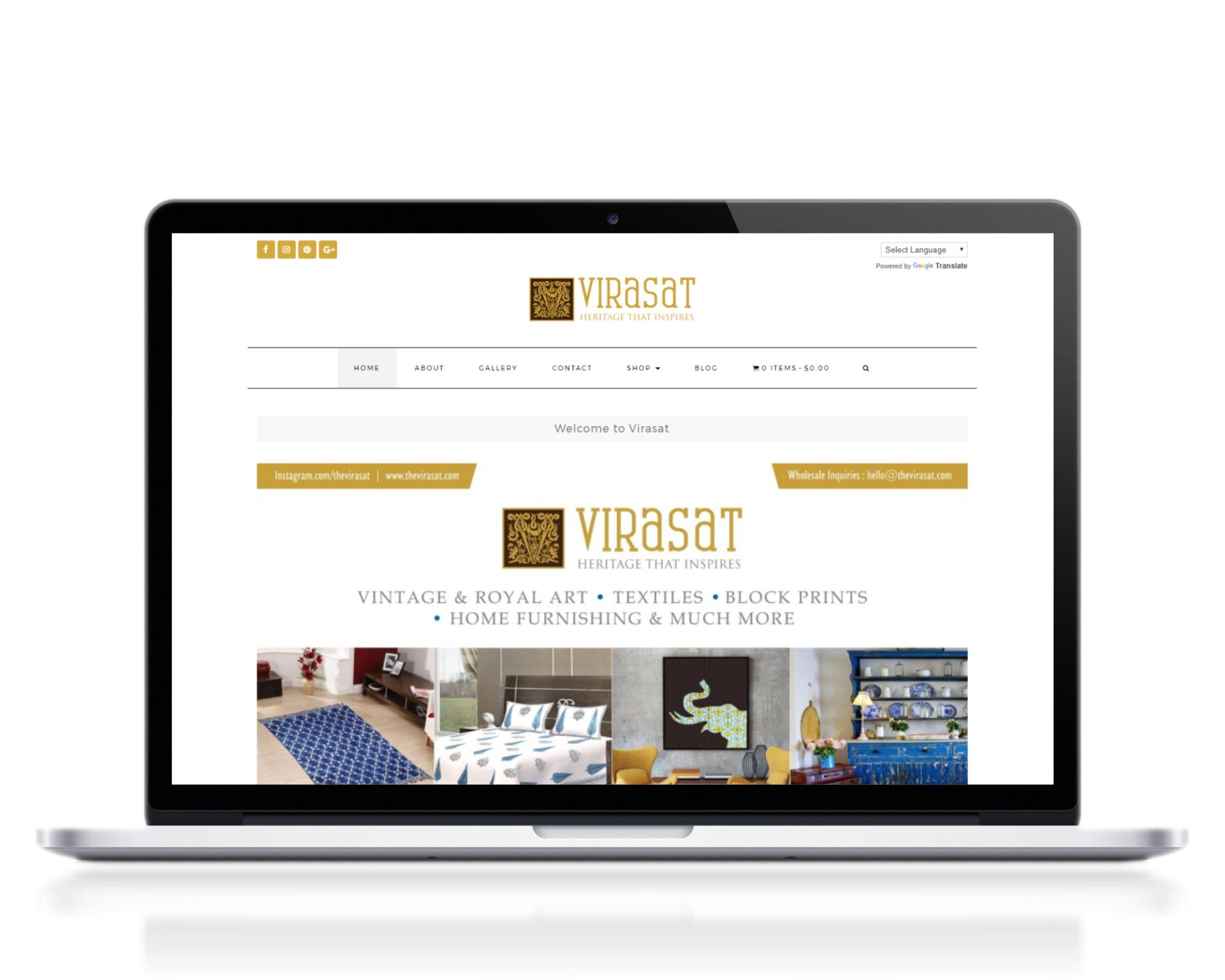 virasat website