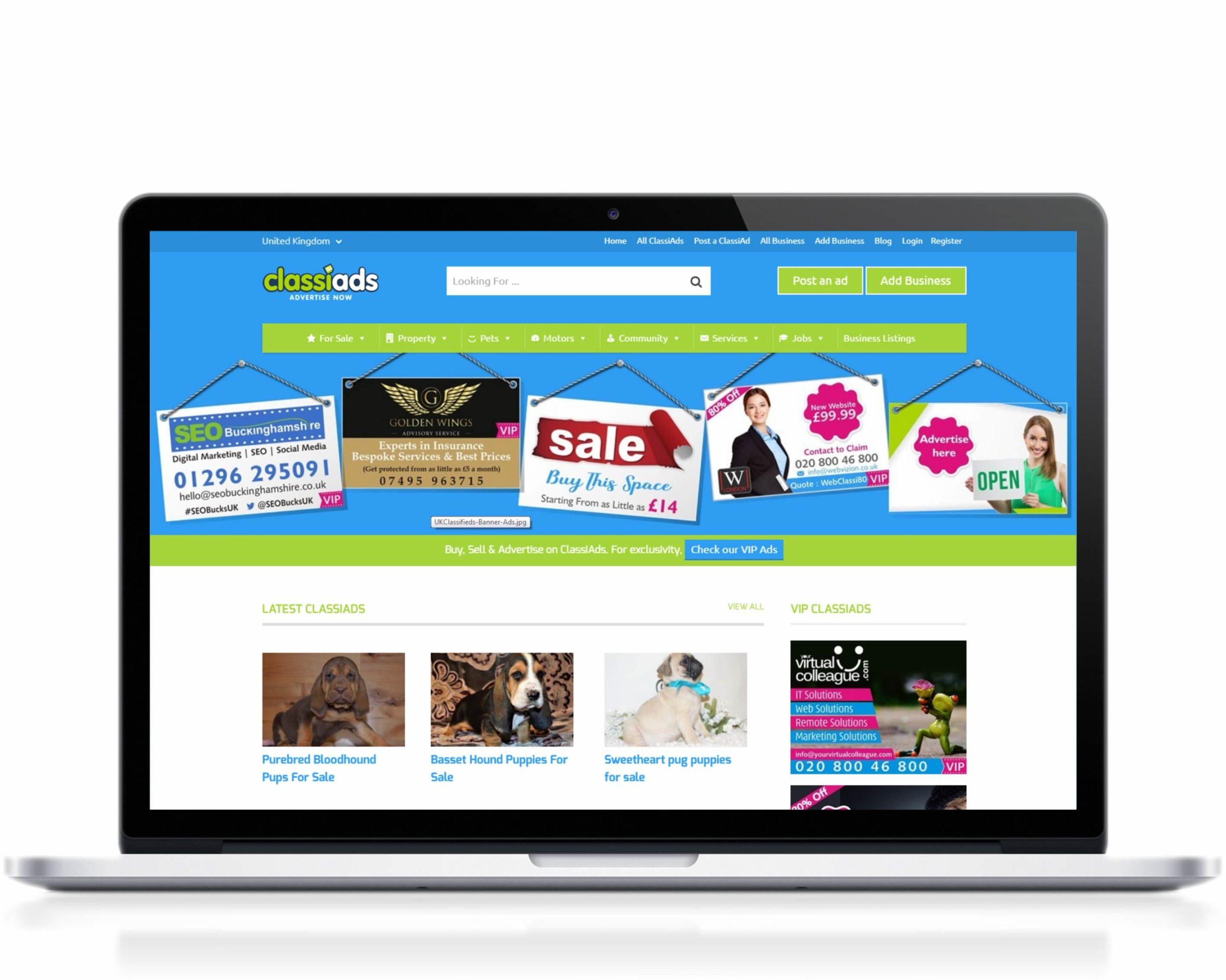 Classiads-UK-website