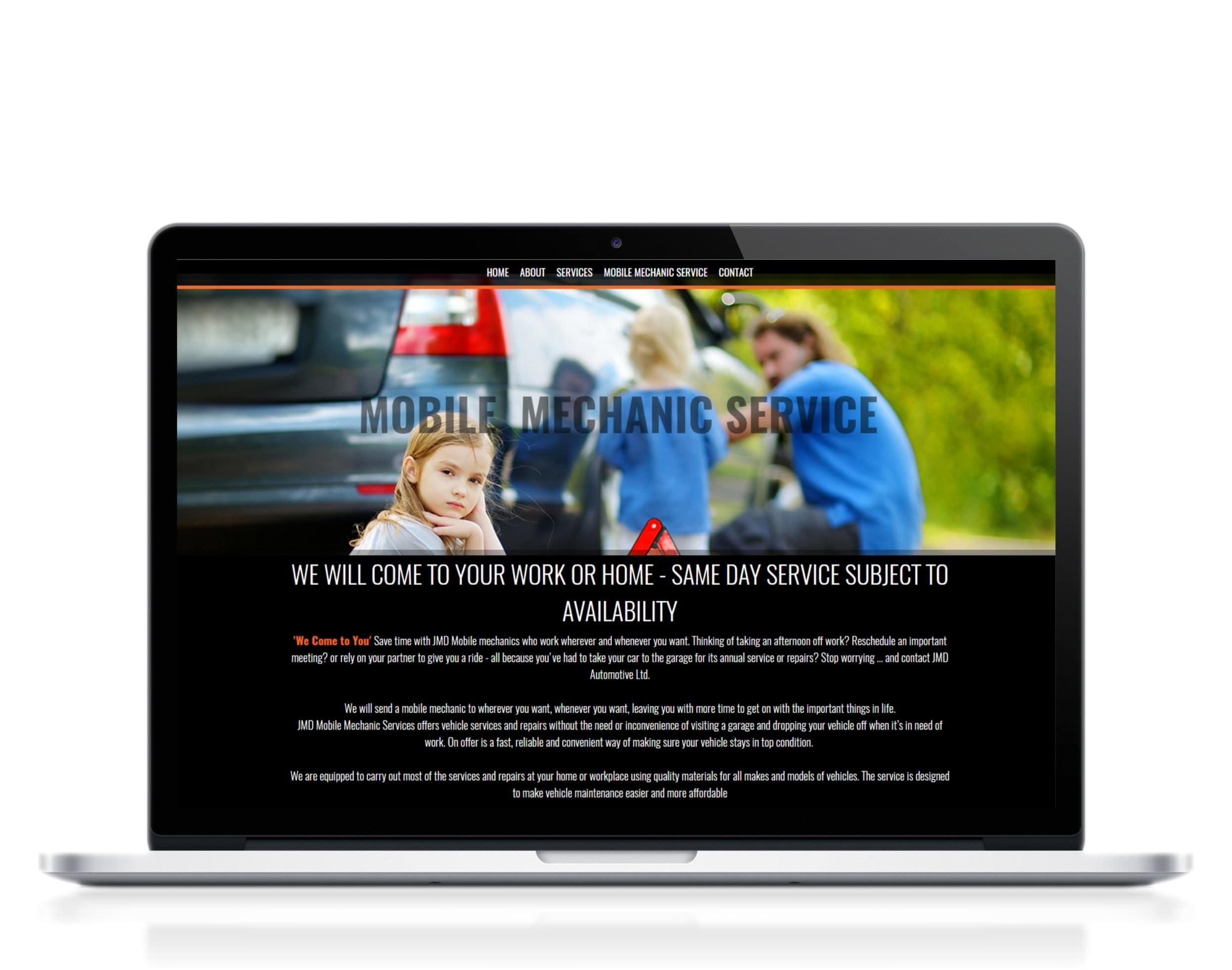 Mobile-machine-service-website