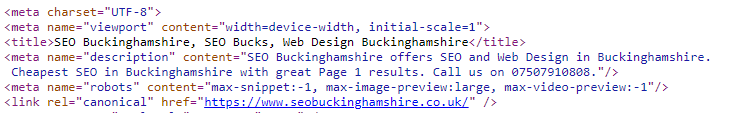 seobuckinghamshire-website-meta-tags