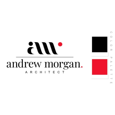Andrew Morgan Architect Logo Design
